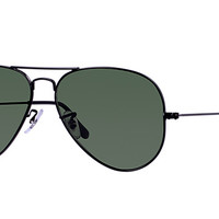 Look who's looking at this new Ray-Ban Aviator Large Metal Ii