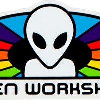 Alien Workshop Spectrum Decal Single