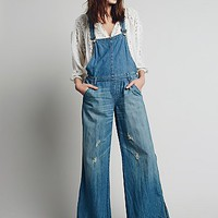 Free People Womens Ring Back Overall