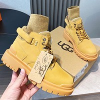 UGG hot sale new style Martin boots woolen thick soles high shoes fashion ladies winter boots
