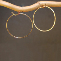 Hoop Earrings - Medium - GOLD
