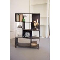 Tall Metal Shelving Unit