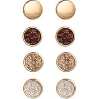 H&M 4 pairs Round Earrings $5.99