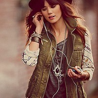 Free People  Clothing Boutique > Follow Your Heart Cargo Jacket