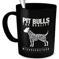 Pit Bull Gifts - Pit Bulls The Reality - Misunderstood - Pit Bulls Misunderstood - Pit Bull Pets