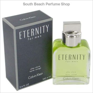 ETERNITY by Calvin Klein After Shave 3.4 oz for Men