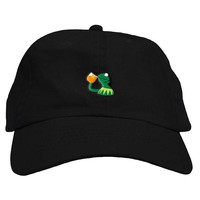 Sipping Frog Dad Hat