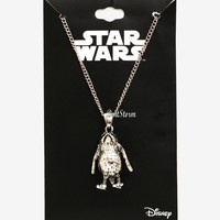Licensed cool Porg Charm Pendant Necklace 3D Star Wars: The Last Jedi Licensed Disney NWT