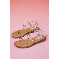 Travel Sandal, Clear | Steve Madden