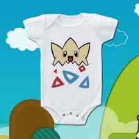 togepi pokemon baby bodysuit for your babies