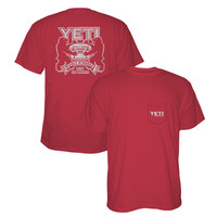 YETI Men's Coat of Arms Short Sleeve T-Shirt