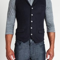 The Gilles Vest with Lapel