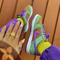 Nike Dunk Low SP Splicing ugly duckling skateboard shoes