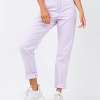 Our Sun Mom Jeans Lilac | Princess Polly