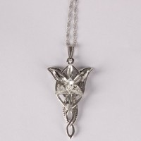 Eforlife NEW Silver Fashion Vintage Arwen's Evenstar Necklace Lord of the Rings