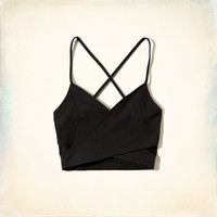 Crossover Cutout Bralette