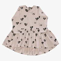 Beau Loves Bandit Lovehearts Oversized Dress in Oyster