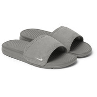 Nike - Benassi Solarsoft Corduroy and Rubber Slides