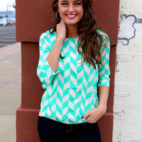 Mixed Up In Mint {Mint/Ivory}