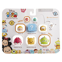 Tsum Tsum 9PK Figures: Pooh-L/Cheshire-L/Alien-L/Happy-M/Pluto-M/Mystery-M/Olaf-S/Perry-S/Baymax Red-S