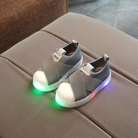 Kids LED Sneakers Sports Shoes For Baby Girls Boys Luminous Shoes