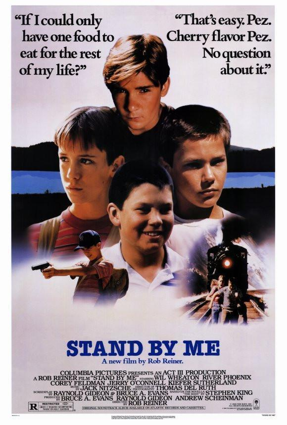 Image of Stand By Me 27x40 Movie Poster (1986)
