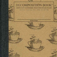 Coffee Cup Pocket-Size Decomposition Book: College-ruled Composition Notebook With 100% Post-consumer-waste Recycled Pages