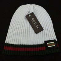 GUCCI Women Men Fashion Casual Embroidery Beanies Knit Hat Warm Woolen Hat G