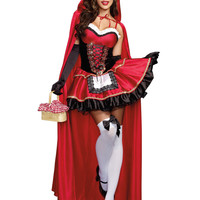 Little Red Adult Costume