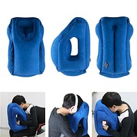 Travel Foldable Blow Neck Pillow