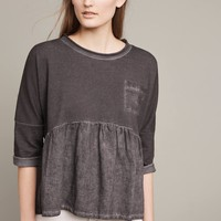 Peplum Pocket Top