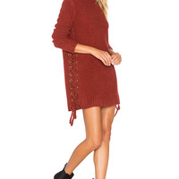 Lovers + Friends x REVOLVE Em Sweater in Strawberry