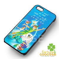 Disney Peter Pan Quotes -SrnD for iPhone 6S case, iPhone 5s case, iPhone 6 case, iPhone 4S, Samsung S6 Edge
