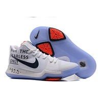 Men 's Basketball Shoes Kyrie Irving 3 Fashion Brave Fearless Sports Running Shoes