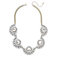 Vintage Blooming Fan Necklace