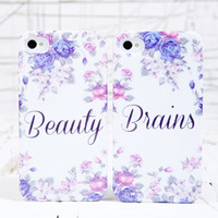 Brains & Beauty iPhone Case 2 Pack at Urban Outfitters