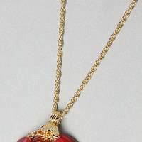 """Karmaloop.com - Global Concrete Culture - The Beauty and The Beast """"Beauty Lies Within"""" Rose Pendant by Disney Couture Jewelry"""