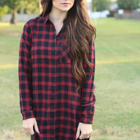 Plaid Behavior Top