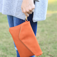 Take Me Everywhere Handbag (Cognac)
