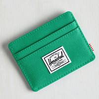 Pack on Track Cardholder by Herschel Supply Co. from ModCloth