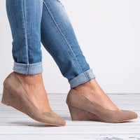 Pointed Toe Wedges