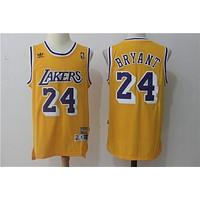 L.A. Lakers 24 Kobe Bryant Swingman Jersey