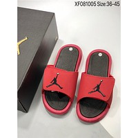 New Nike Air Jordan 6 Eclipse aj6 cheap Men's and women's nike Slippers Beach shoes-1686248855