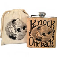 Spitfire Girl Flasks with Printed Muslin Bags