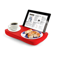 Portable Tablet Tray in Red