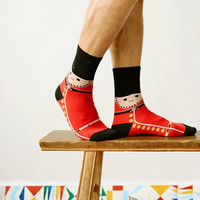 Unisex Queen's Guard Style Socks