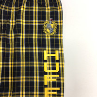 SALE Ladies Small Hufflepuff Flannel Pant