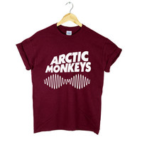 ARCTIC MONKEYS TSHIRT NEW ALBUM WOMENS MENS ROCK MUSIC DOPE SWAG NEW