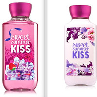 Bath and Body Works Sweet Summer Kiss Body Lotion and Shower Gel Set