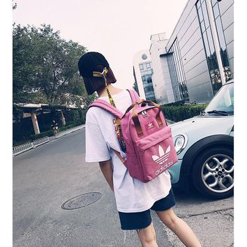 DCCK2 231 Adidas backpack recreational sports backpack Student Backpack outdoor travel bag Pink